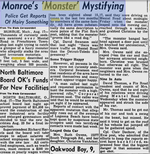 Monroe-monster-mystifying