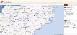Progress-energy-north-carolina-south-carolina-outage-map