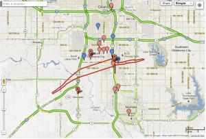 Google-Moore-Oklahoma-Tornado-path-track-crisis-map