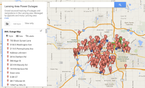 Lansing-Michigan-LBWL-2013-12-29-outage-map