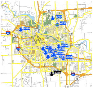 Rsi-avl-snow-plow-tracking-map-ann-arbor-2013-12-15-midnight